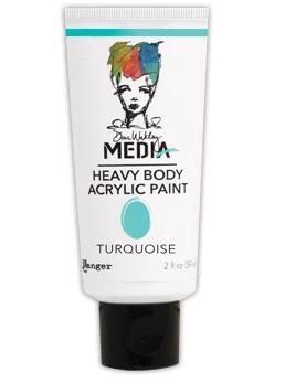 Dina Wakley Media Heavy Body Acrylic Paint 59ml - Turquoise
