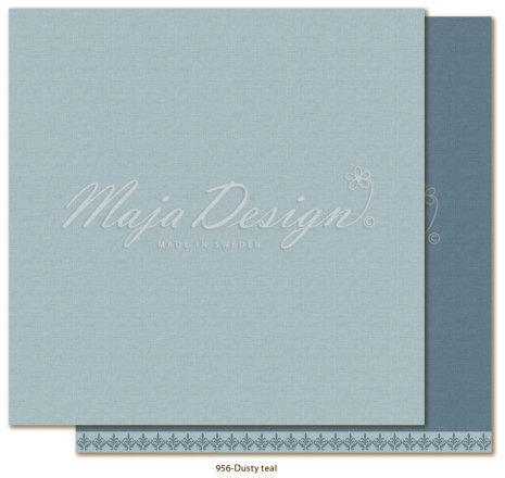 Maja Design Monochromes 12X12 Shades of Winterdays - Dusty teal