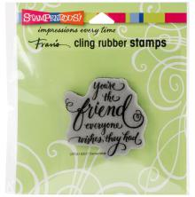 Stampendous Cling Stamp 4.75X4.5 - Everyone Wishes