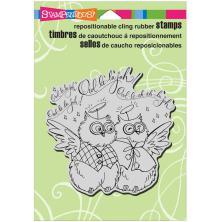 Stampendous Cling Stamp 6.5X4.5 - Owl Hallelujah