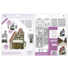 Tonic Studios Dimensions Tudor Town Die Set - George & Dragon 1856E