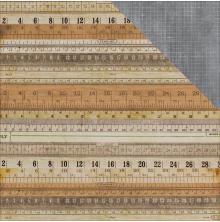 Kaisercraft Documented Double-Sided Cardstock 12X12 - Measurement UTGÅENDE