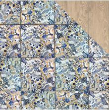 Kaisercraft Havana Nights Double-Sided Cardstock 12X12 - Mosaic Tile UTGÅENDE