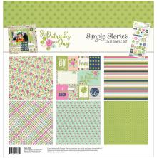 Simple Stories Simple Sets Collection Kit 12X12 - St. Patrick's Day