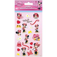 Minnie Mouse Standard Stickers 4 Sheets
