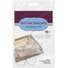 Scrapbook Adhesives 3L Keepsake Envelopes - Assorted