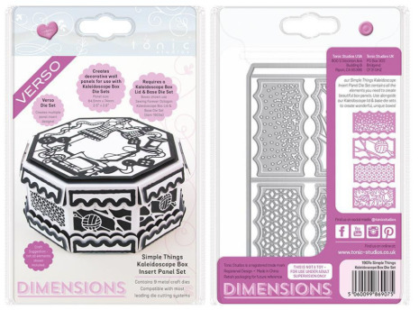 Tonic Studios Dimensions Kaleidoscope Box Insert - Simple Things 1907E