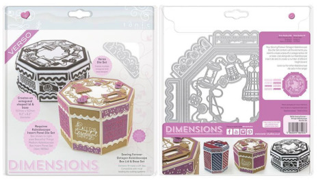 Tonic Studios Dimensions Kaleidoscope Box - Sewing Forever Octagon 1903E