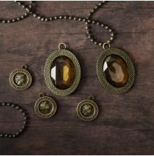 Prima Frank Garcia Memory Hardware Embellishments - La Rochelle Antique Trinkets