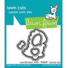 Lawn Fawn Custom Craft Die - Rawr
