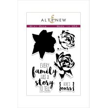 Altenew Clear Stamps 3X4 - Mini Rose