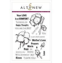 Altenew Clear Stamps 6X8 - Cotton Comfort