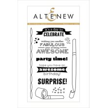 Altenew Clear Stamps 4X6 - Birthday Bash