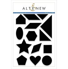 Altenew Clear Stamps 6X8 - Simple Shapes XL