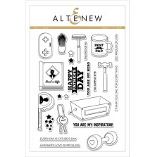 Altenew Clear Stamps 6X8 - Best Dad