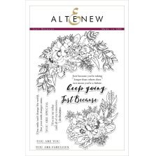 Altenew Clear Stamps 6X8 - Just Because