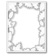 Poppystamps Die - Brilliant Leaf Frame