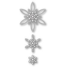 Poppystamps Die - Celeste Snowflakes