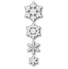 Poppystamps Die - Stitched Evangeline Snowflakes