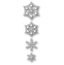 Poppystamps Die - Evangeline Snowflakes
