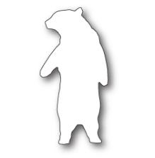 Poppystamps Die - Friendly Polar Bear