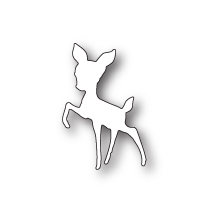 Poppystamps Die - Curious Fawn