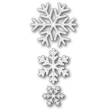 Poppystamps Die - Stitched Alpine Snowflakes