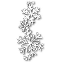 Poppystamps Die - Stitched Alpine Snowflake Band