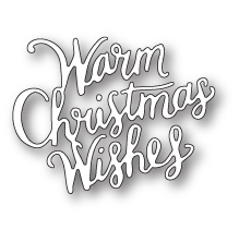 Memory Box Die - Warm Christmas Wishes
