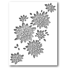Memory Box Die - Chrysanthemum Collage