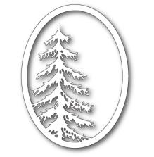 Memory Box Die - Tall Pine Oval