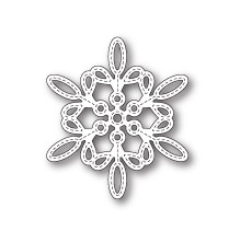 Memory Box Die - Purslane Snowflake Outline