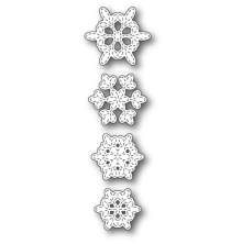 Memory Box Die - Batavia Stitched Snowflakes