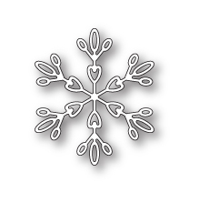 Memory Box Die - Evelyn Snowflake
