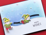 Memory Box Clear Stamp Set - Playtime Elves