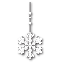 Memory Box Die - Hanging Evelyn Snowflake