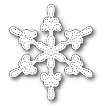 Memory Box Die - Chancery Snowflake Outline