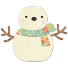 Memory Box Die - Cheering Snowman Deep Edge