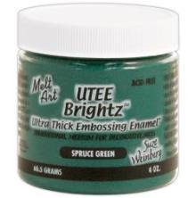 Melt Art Ultra Thick Embossing Enamel Brightz - Spruce Green UTGÅENDE