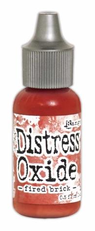 Tim Holtz Distress Oxide Ink Reinker 14ml - Fired Brick