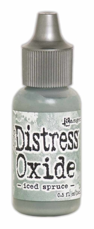 Tim Holtz Distress Oxide Ink Reinker 14ml -  Iced Spruce