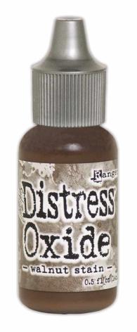 Tim Holtz Distress Oxide Ink Reinker 14ml - Walnut Stain