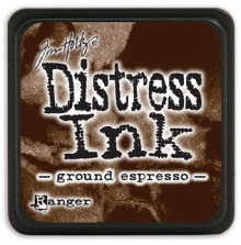 Tim Holtz Distress Mini Ink Pad - Ground Espresso