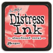 Tim Holtz Distress Mini Ink Pad - Abandoned Coral