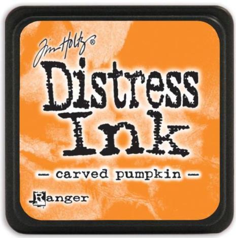 Tim Holtz Distress Mini Ink Pad - Carved Pumpkin