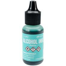 Tim Holtz Alcohol Ink 14ml - Patina