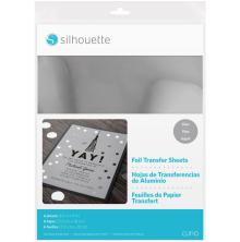 Silhouette Foil Transfer Sheets 8.5X11 6/Pkg - Silver
