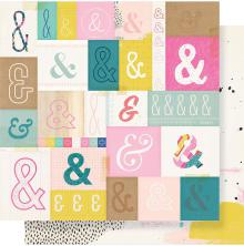 Crate Paper Good Vibes Double-Sided Cardstock 12X12 - Serious Fun