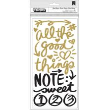 Vicki Boutin Thickers Stickers 5.5X11 2/Pkg - All The Good Things Phrase UTG