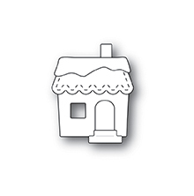 Memory Box Die - Stitched Cabin